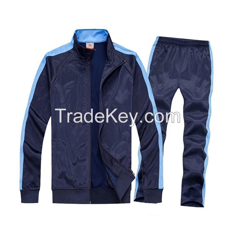 Sell Sport slim fit custom latest design plain tracksuits