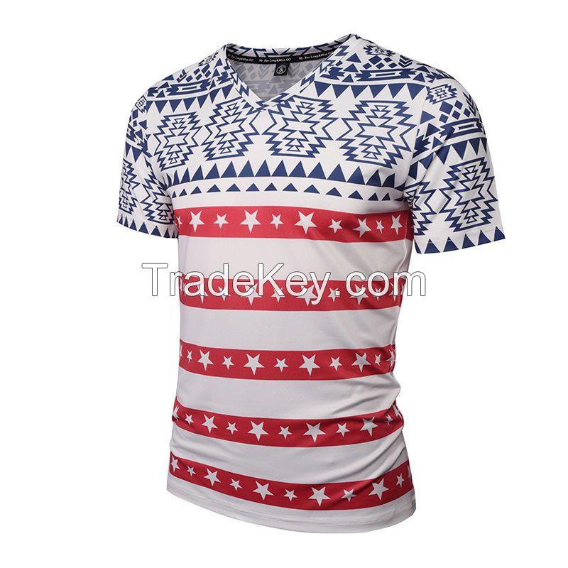 Men Sport Casual Athletic T-shirt