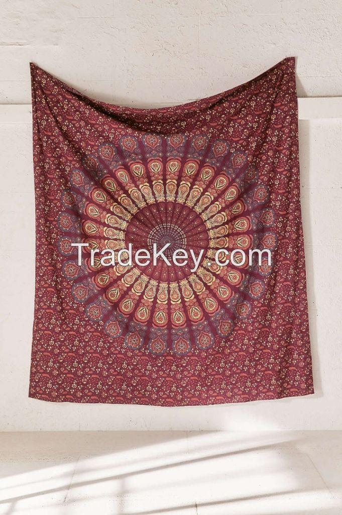 Beautiful Mandala Beach Picnic wall Decor Tapestry and Christmas decoration gift