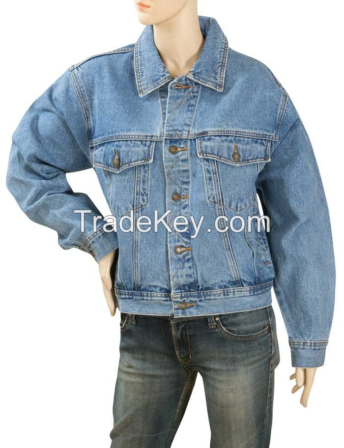 Stock Lot Graded Denim Jeans and Jackets - Customized Packing and Label