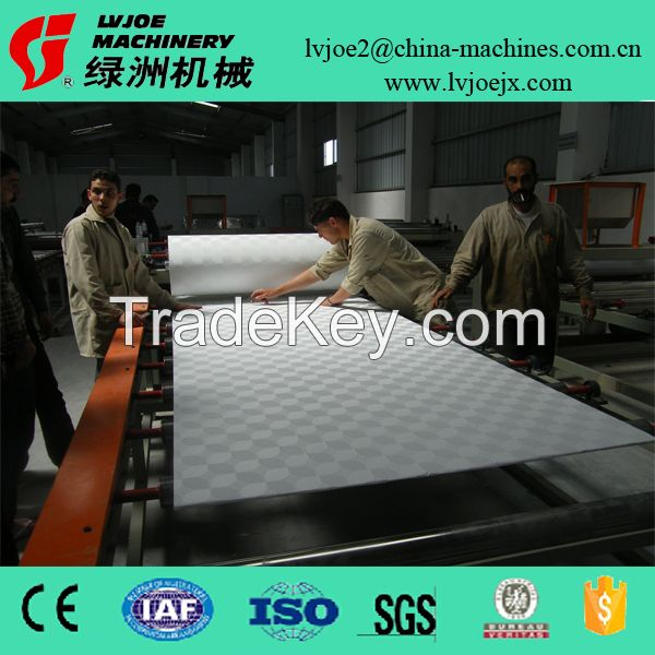 Lvjoe Brand Hot Sell Gypsum Board PVC Film Aluminium Foil Laminating Machine
