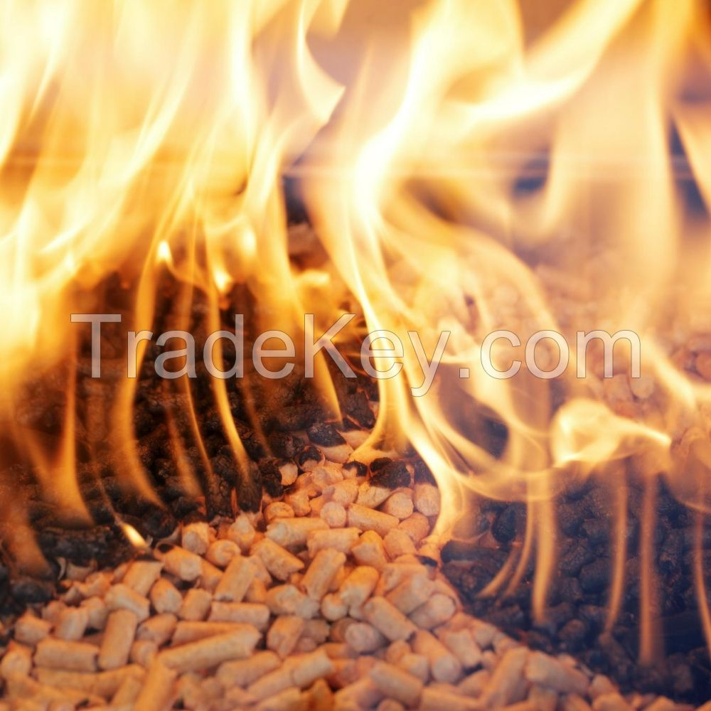100% high quality pine wood pellet 6 - 8 mm for sale