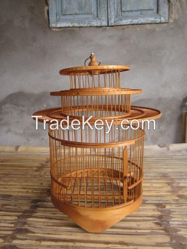 bird cage, pet house, pet carrier, bamboo bird cage