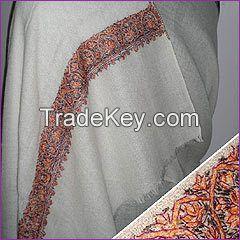 Pashmina shawl , printed shawl , indian shawl , embroided shawl , hand emboided shawl , jamawar shawl