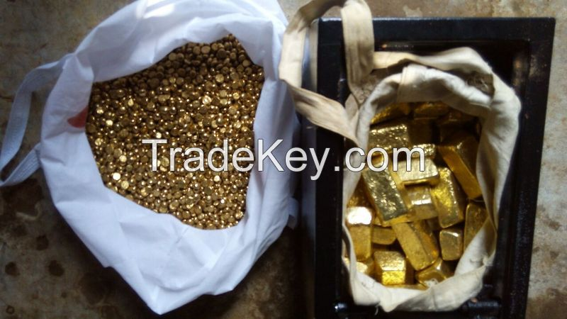 Gold Bars and Nuggets For Sale