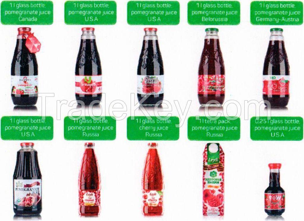 Pomegranate Juice - 100% pure organic from Azerbaijan, richest with antioxidants