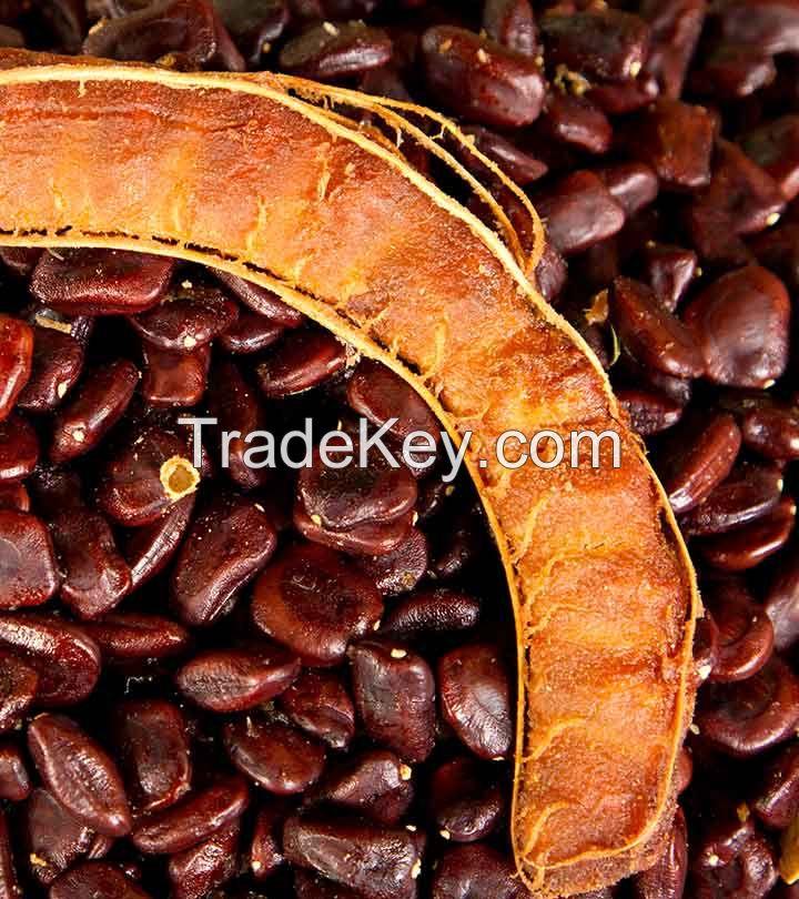 Tamarind seeds in stock