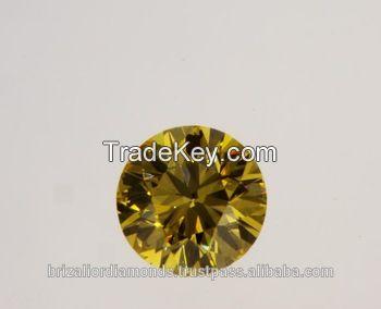 0.30 Ct. Round Shape Loose Natural Diamond Yellow SI2 GIA