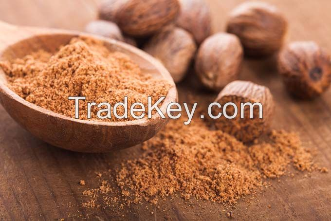 Organic Spice Nutmeg Nuts