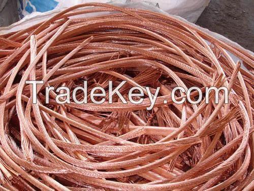 99.9% and Copper Cathode, Pure Copper Wire Millberry Scrap