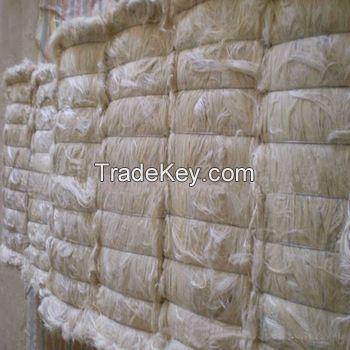 natural sisal fiber, sisal rope , sisal cloths, Bleached sisal fiber for making toys