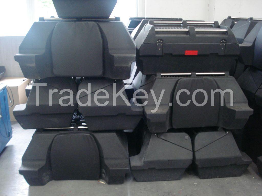 Roto molded ATV box