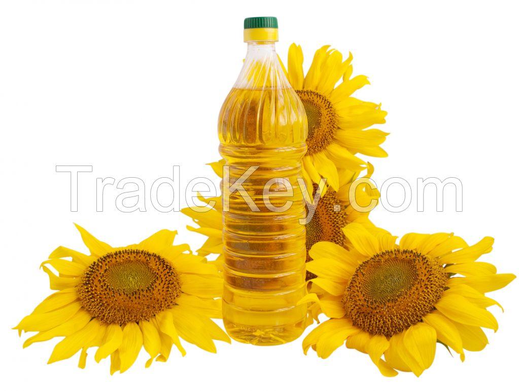 Edible refined sunflower oil