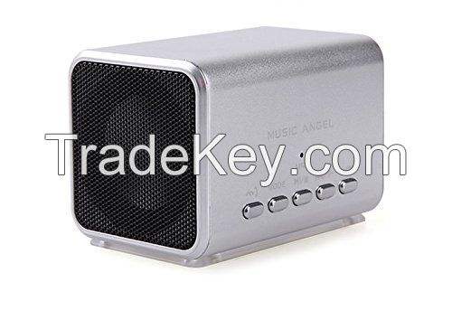 MD05BT Mini Active Loudspeaker Wireless Portable Stereo Bluetooth Speaker with Built-in Microphone Different Colors Proved