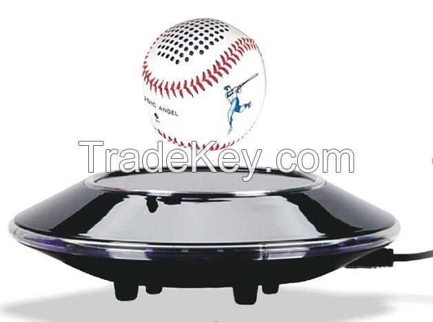 Outdoor Sports Portable Levitating Wireless Bluetooth Speaker, Floating Wireless Speaker Maglev Height: 8-10mm