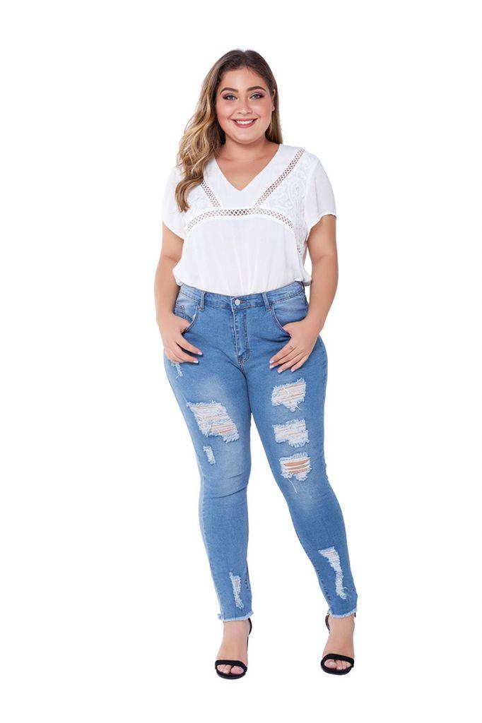 Women Jeans Pant Fashion Jeans Girl Denim Pants Denim Trousers