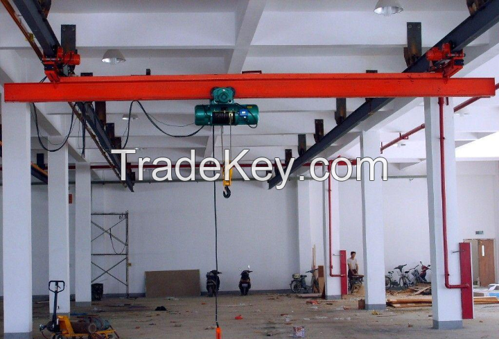 5 ton single girder overhead travelling crane