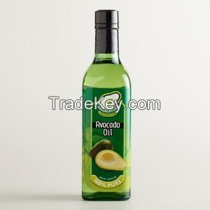 100% Natural and Pure Cold Pressed Avocado Oil