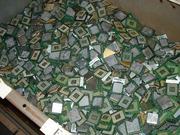 Cpu's Ceramic scrap