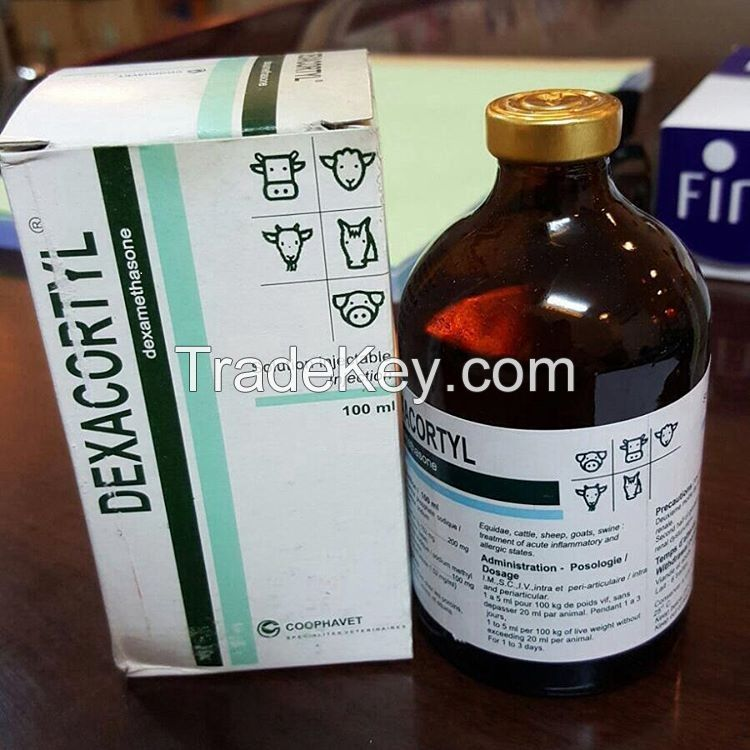 Dexacortyl 100ml, Dexametasona 10ml, Vetacortyl 5ml, Brinco
