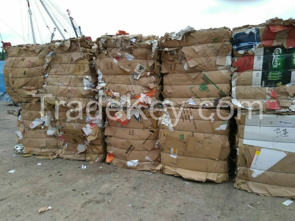 Old Corrugated Cardboard Recycling