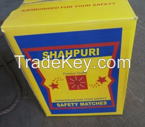 SUPERIOR QUALITY OF CARDBOARD/ WOODEN SAFETY MATCHES