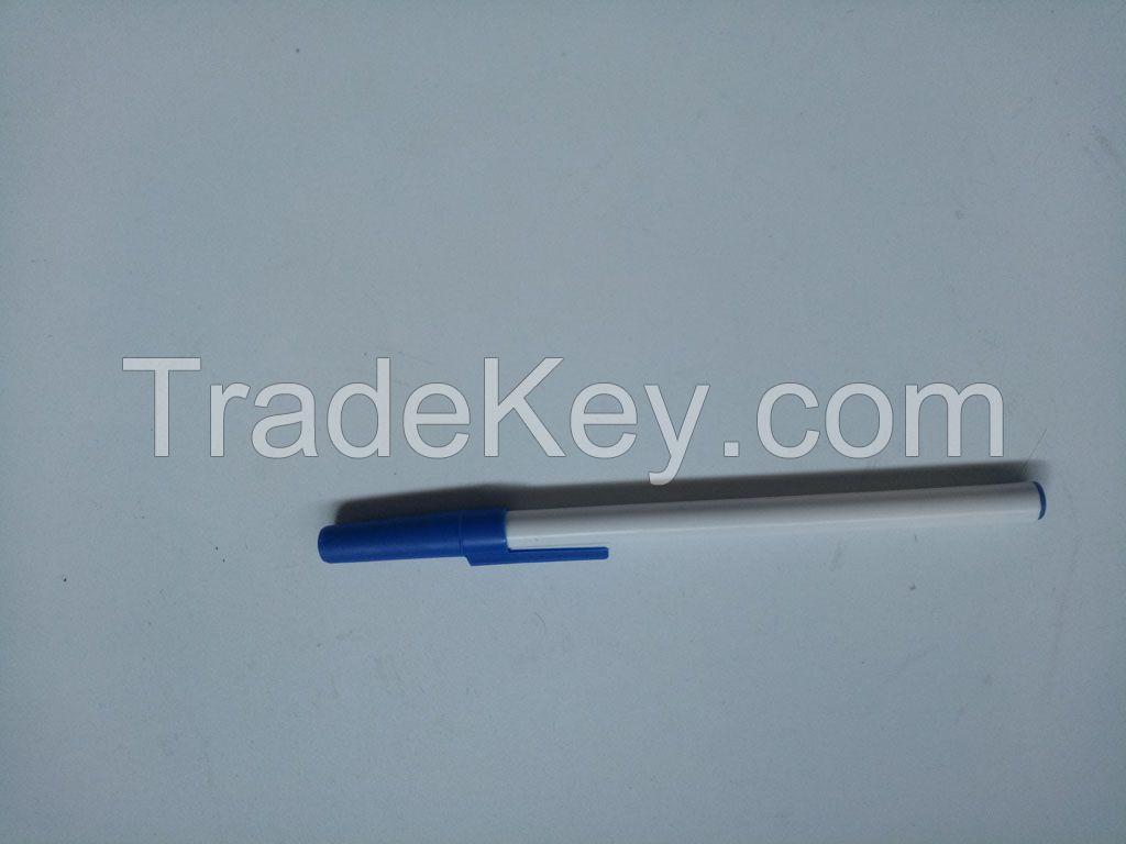 custom logo printed plastic ball pen