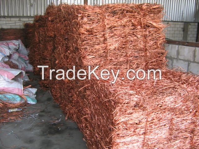 Copper Wire Scrap Specifications: Copper Wire Scrap, (Millberry) 99.7min
