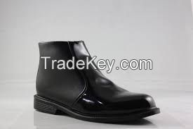 SHOES LEATHER POLICE