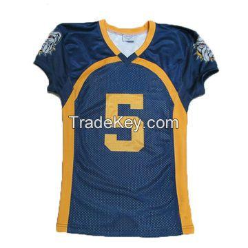 Custom Sublimation printed American football jersey