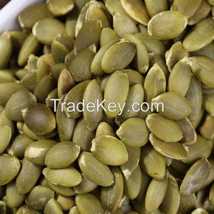 Edible Seeds Dark Green Pumpkin Kernels, GWS/Shine Skin Pumpkin Seed Kernels