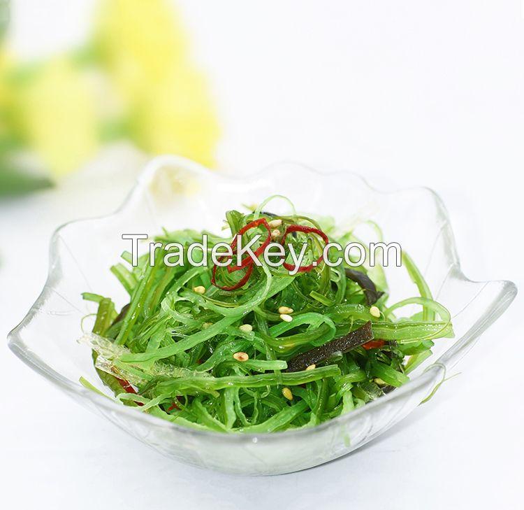 Current Bag Packing Kosher Frozen seasoned Chuka Wakame Seaweed