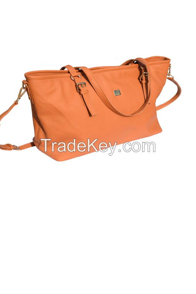 Women leather shoulder & hand bag