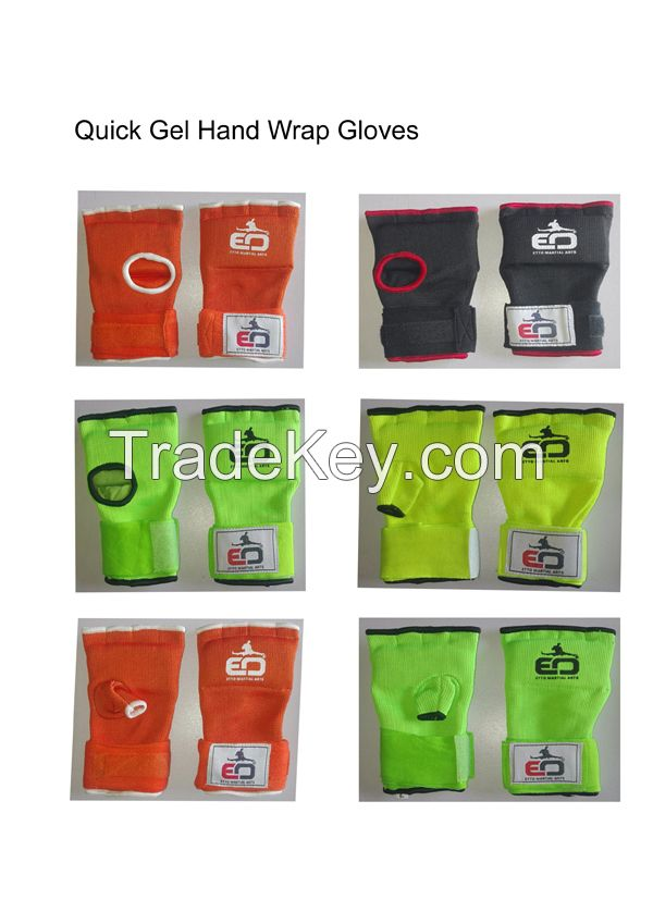 Gel Gloves, Quick Wrap Gel Gloves, Hand Protector, Martial Arts Gloves, Inner Gloves,