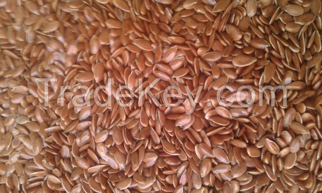 new crop flax seeds