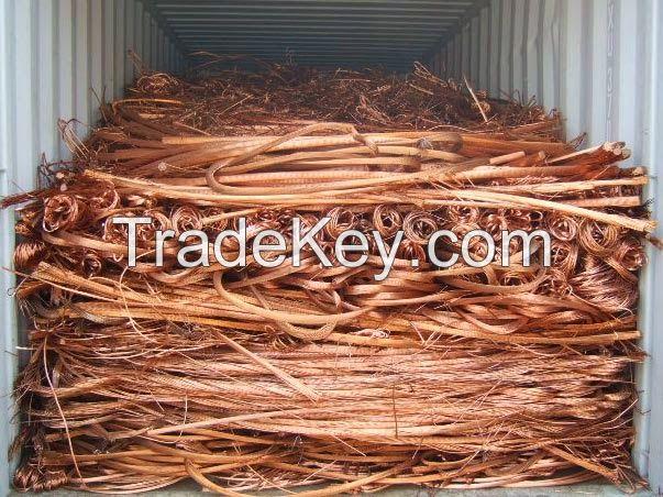 Copper Wire Scrap / Millberry Copper Scrap 99.99%
