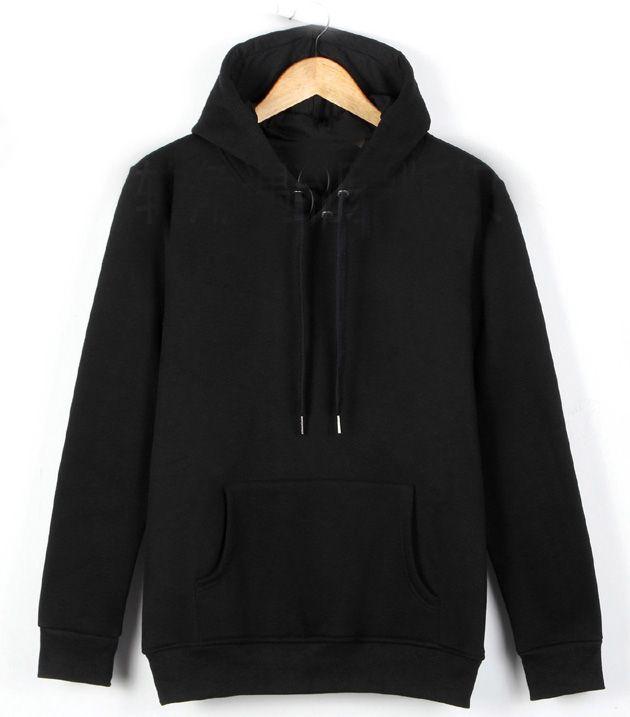 Men's Zip hoodie in black Color and Customized