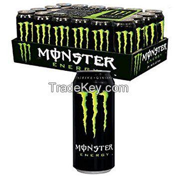 Monster Green energy drink