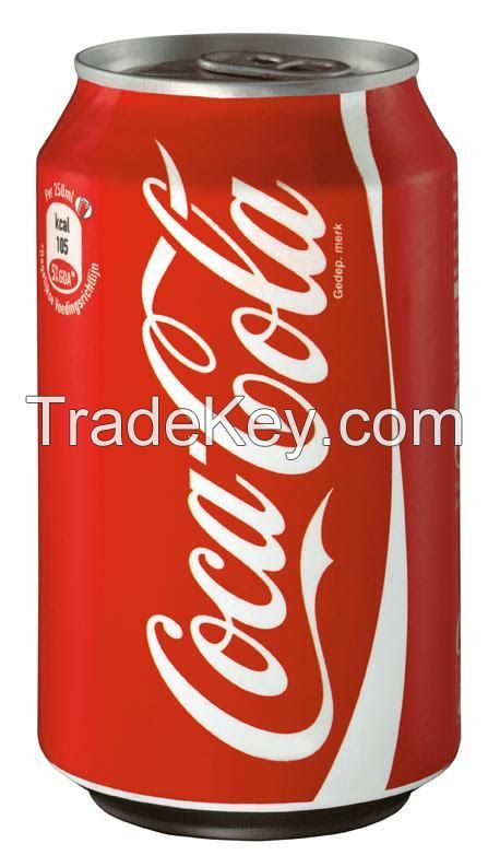COCA COLA CANS 33cl / FRENCH ORIGIN