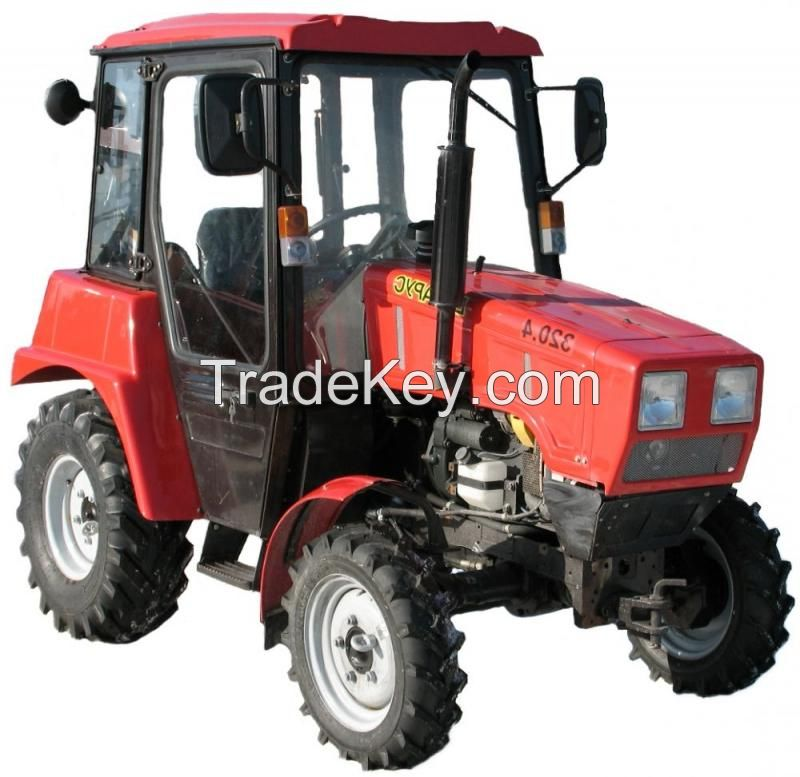 Tractor Belarus 320, small-sized for auxiliary and agricultural works