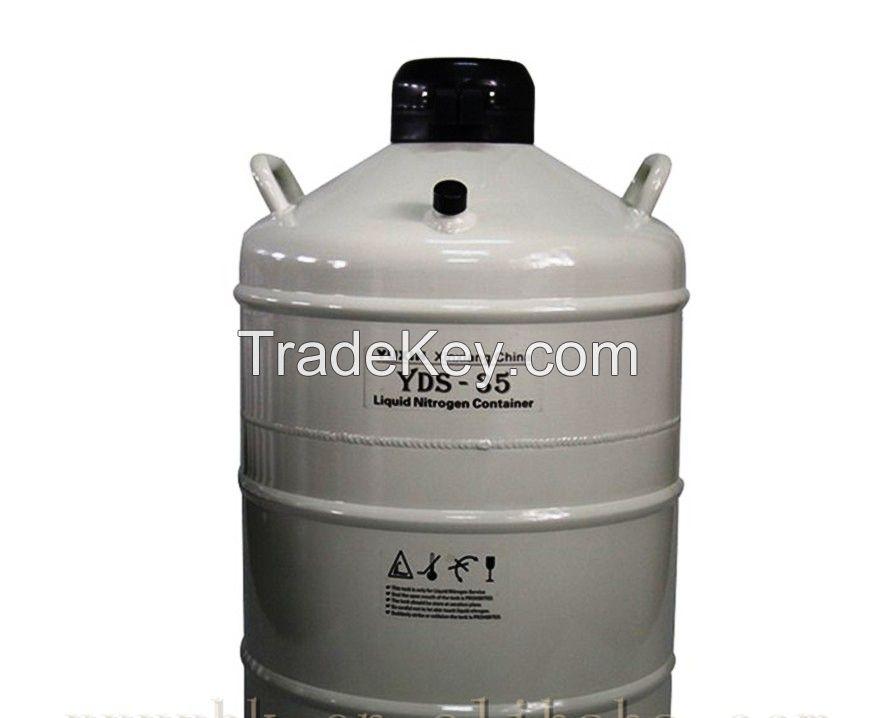 Cryogenic Container YDS-35 Liquid Nitrogen LN2 Dewar Tank