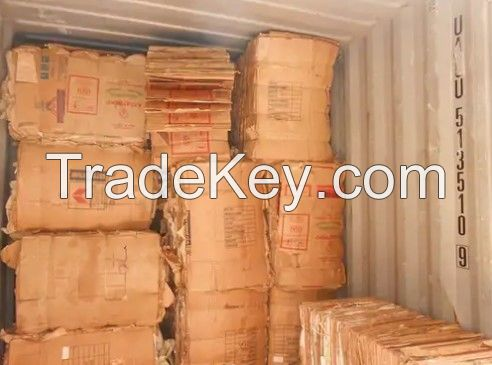 Quality used cardboard waste paper and selected OCC waste paper scrap Hot Sale.