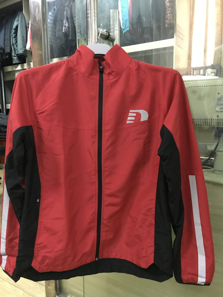 Sports jacket coach wear teamwear sports uniforms light weight running jacket