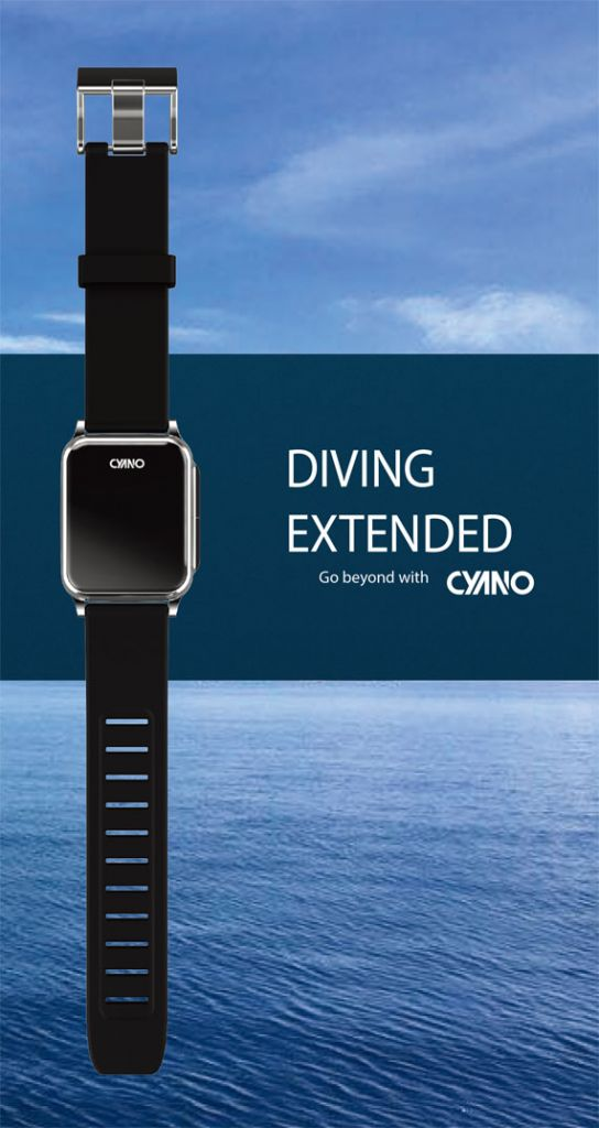 CYANO Diving Watch Dive Computer equipment DIVING EXTENDED