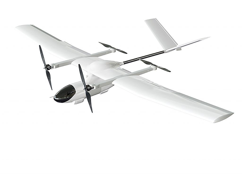 EWG-E2V VTOL Fixed-wing UAV
