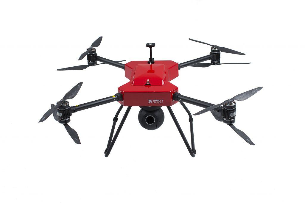EWZ-S8 Coaxial Multi-rotor Commercial Drone