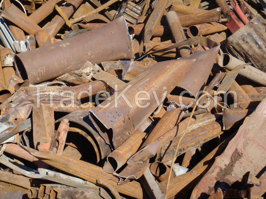 HSM 1 / 2, METAL SCRAPS, USED RAILS, STEELS, IRON