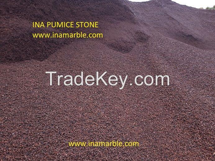Calcite lumps, pumice stone in bulk, zeolite, bauxite ore