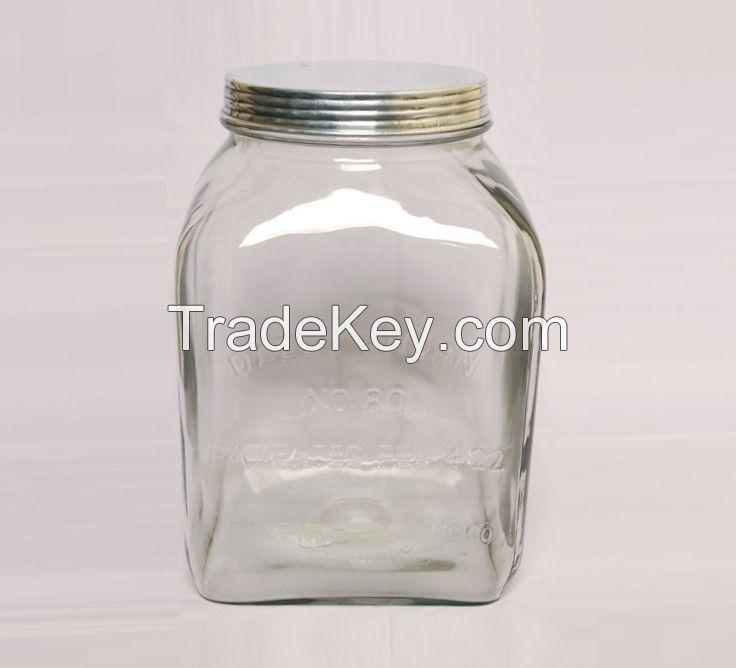 Glass Jar, Glass Bottle