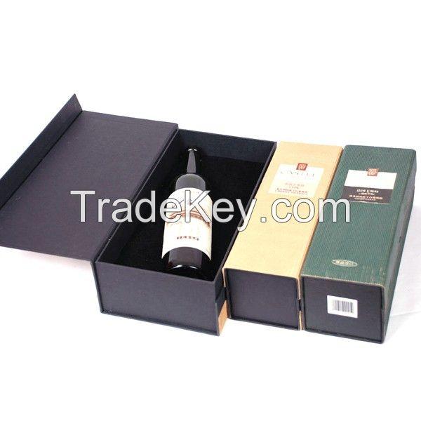 Flip open paper box with insert EVA